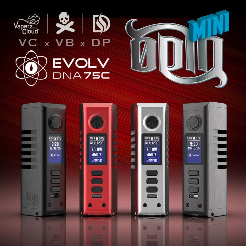 Dovpo x Vaperz Cloud Odin Mini DNA75C Mod