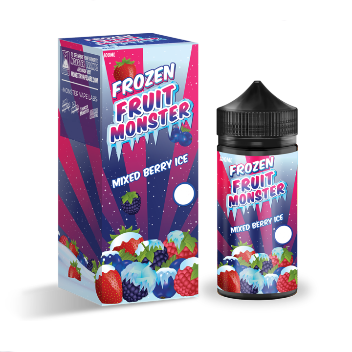 Frozen Fruit Monster - Mixed Berry Ice