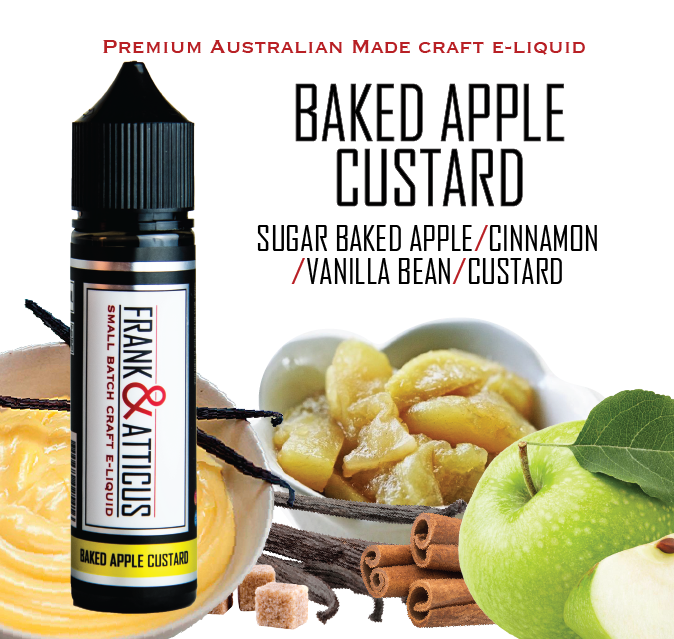 Baked Apple Custard 60ml RTV