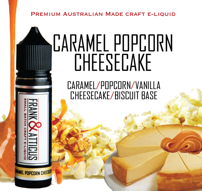 Caramel Popcorn Cheesecake 60ml RTV