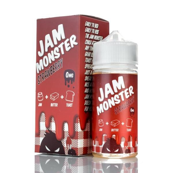 Jam Monster - Strawberry - 100ml RTV