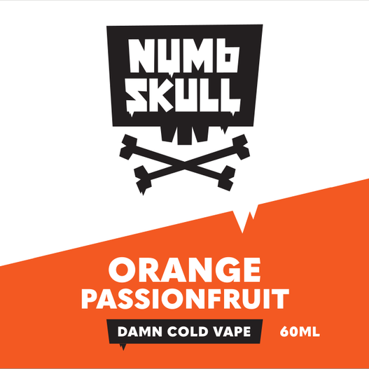 NUMB SKULL - ORANGE PASSIONFRUIT