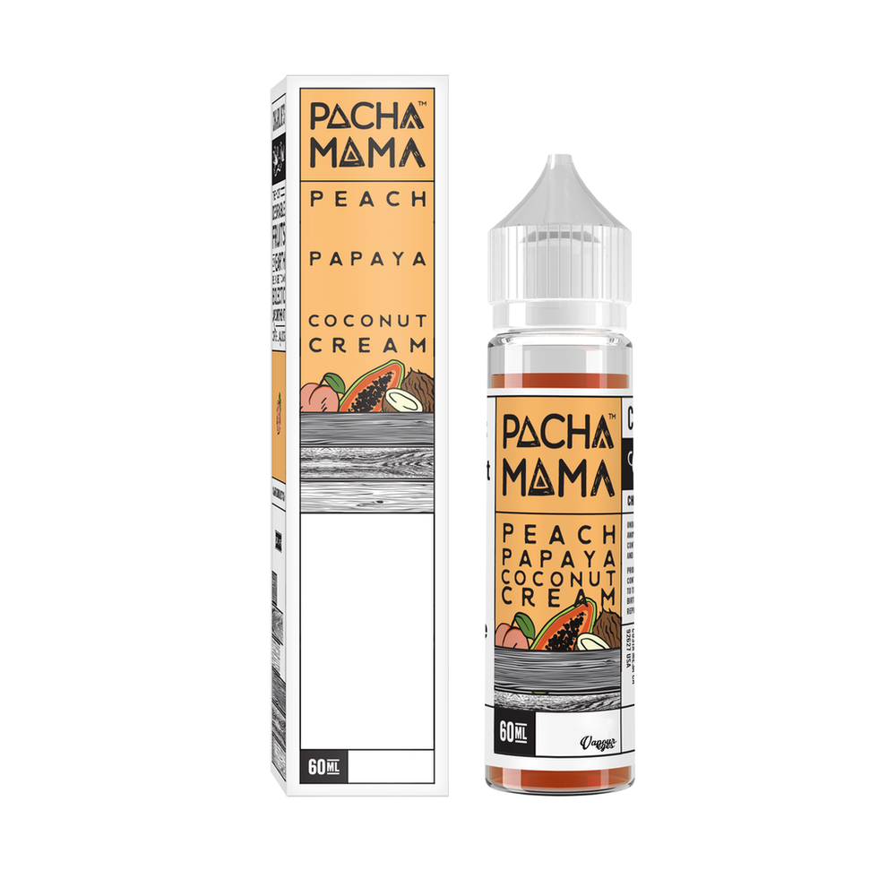 PEACH PAPAYA COCONUT CREAM // 60ml RTV