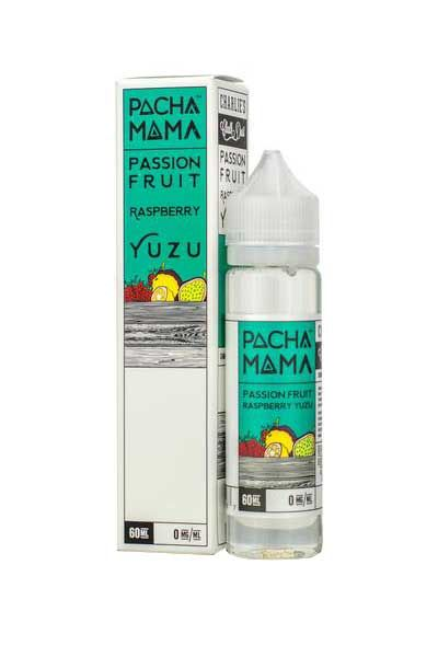 PACHAMAMA PASSION FRUIT RASPBERRY YUZU // 60ML RTV