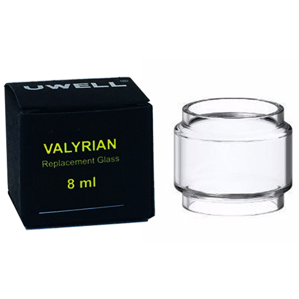 Pyrex Glass Tube for Uwell Valyrian Tank Atomizer 8ml