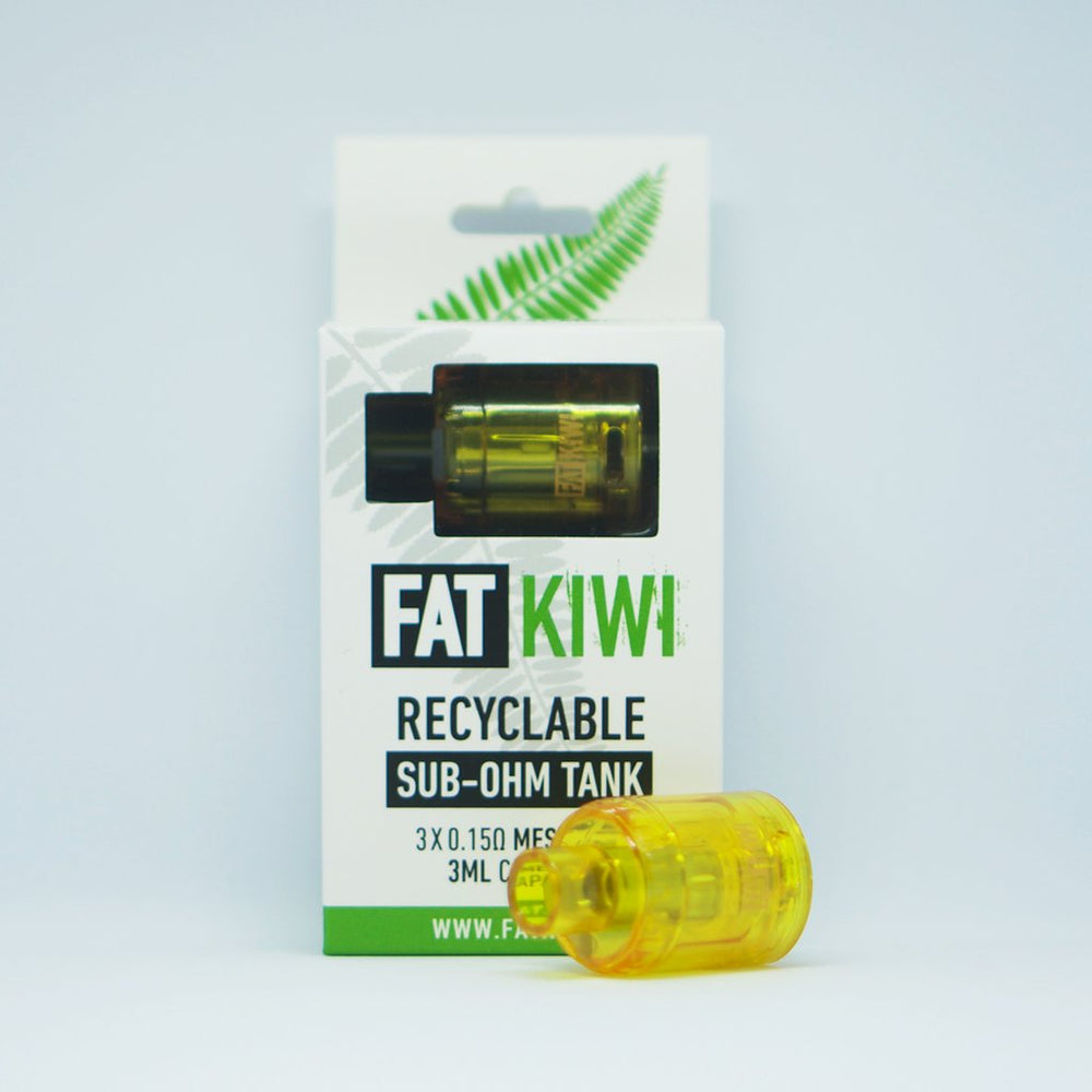 Fat Kiwi - Recyclable Sub-Ohm Tank (3 Pack)