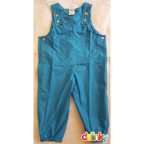 Clearance Overalls > Turquoise 12-18 months