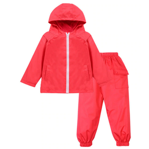 Jacket and trousers wet weather set