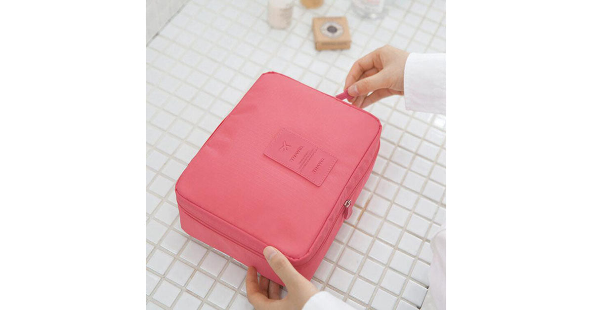 Portable Travel Waterproof Make-up Bag
