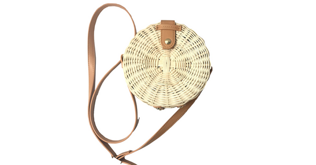 Summer Rattan Straw Bag