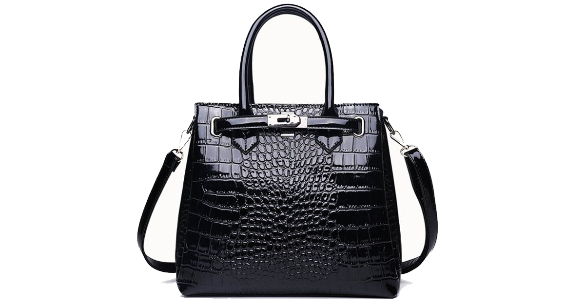 Crocodile Skin Carryall