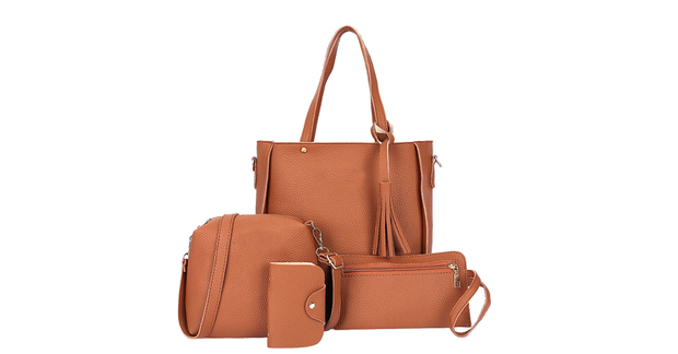 4PCS Handbag Set Women