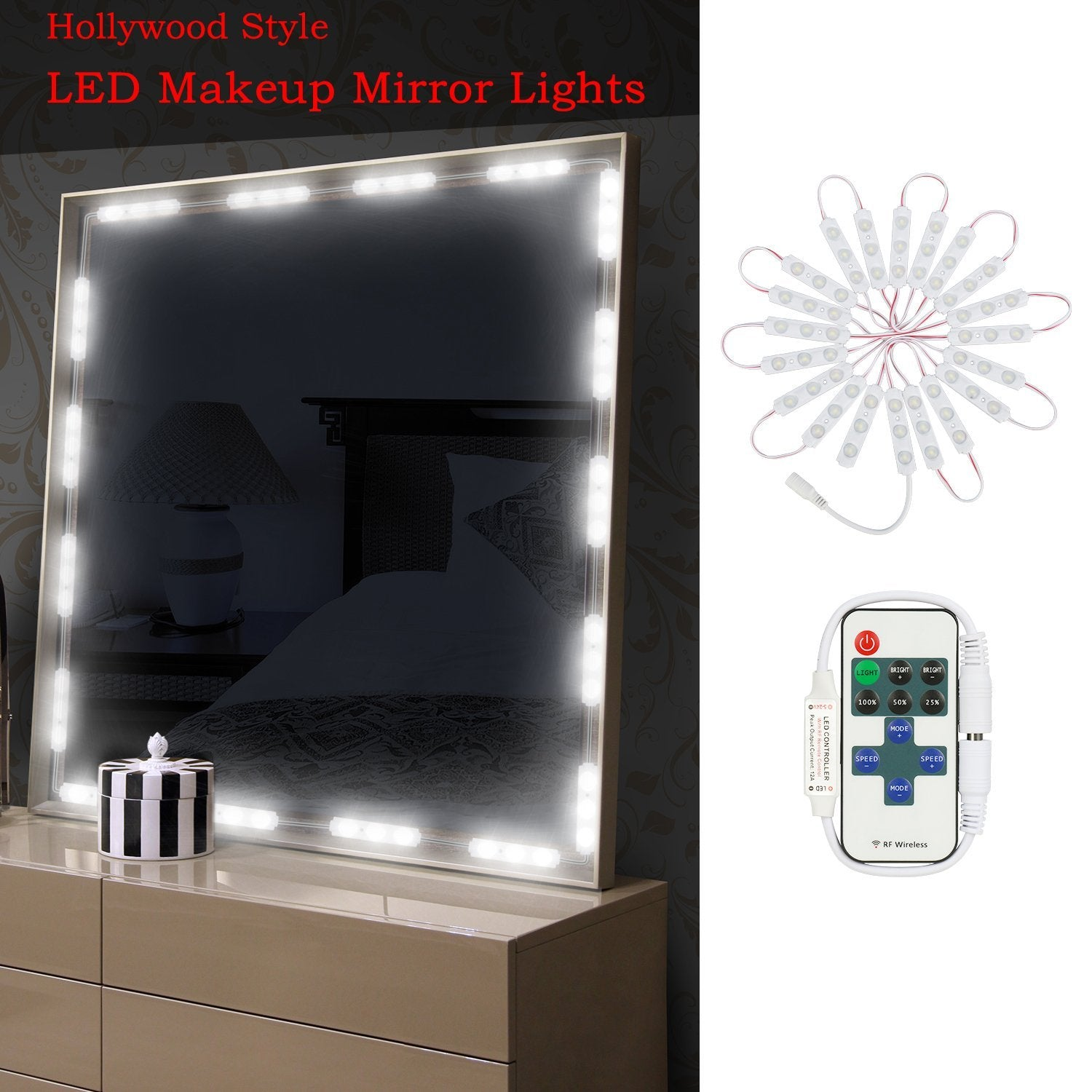 mirror on grey stunning lights in small for bedroom stool modern white is which with spot also design bright nuanced vanity advanced dressing adorable rug and padded lighting equipped