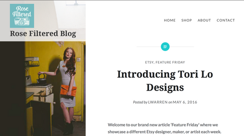 tori lo designs, feature Friday, blog, blogger, fashion blog, leather accessories, leather handbag