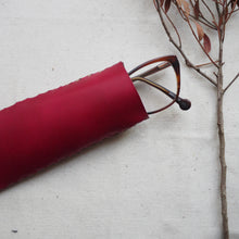 MAUDE - Leather Glasses Case