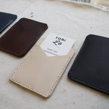 CLANCE - Leather card holder