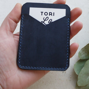 CLANCE - Leather personalised card holder