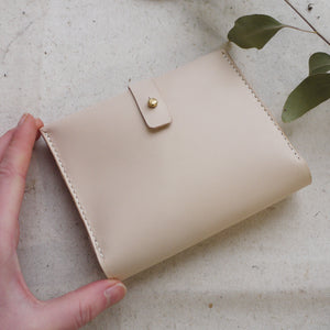 CHLOE - Personalised Square Leather Bifold