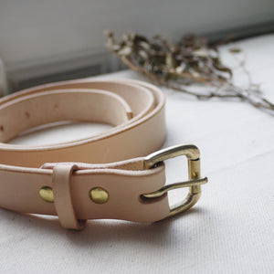 "FLYN - 1"" Leather Belt"