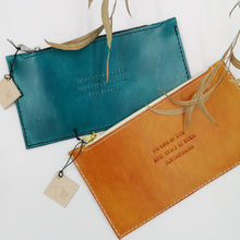 leather purse, when you focus on the good the good gets better.  No-one is you and that is your superpower
