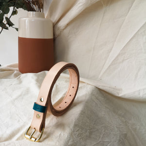FLYN - Customised colour leather belt