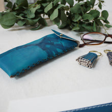 MAUDE II - Personalised Tie dye glasses case with fastening
