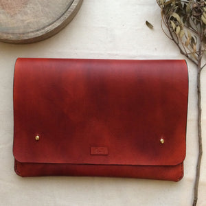 EDGAR -  Personalised Leather iPad Case
