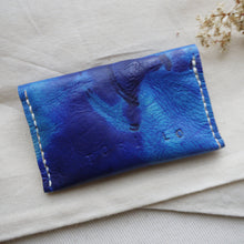ROX - Small Tie Dye Leather Purse