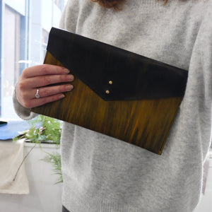 TYDE - Ombre Leather Clutch