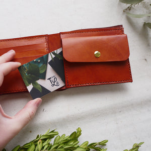 JAI - Large Leather Wallet