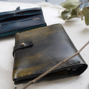 CHLOE - Ombre Square Leather Bifold