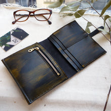 CHLOE - Personalised Ombre Square Leather Bifold