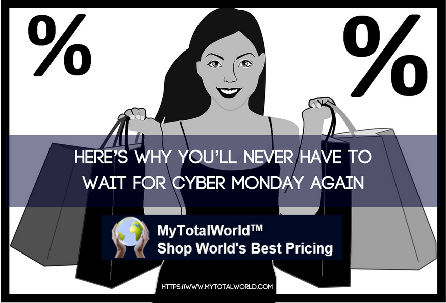 Here's Why You'll Never Have to Wait for Cyber Monday Again