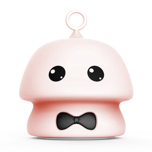 Pink Moocoo 7 Colors Silicone Soft Cartoon Lamp Night Light