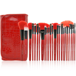 24pcs/ Set Professional Makeup Brush Set (1 set)