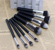 8 pcs/set Nylon Makeup Brush Set (1 set)