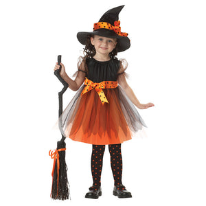 Europe and United States cosplay witch anime dance performance clothing Children's Halloween Costume
