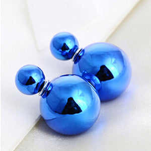 Small Earrings Medical Titanium Steel Stud Earring Punk Rod Flat T-Type Screws Male Ear Nail Piercing Jewelry