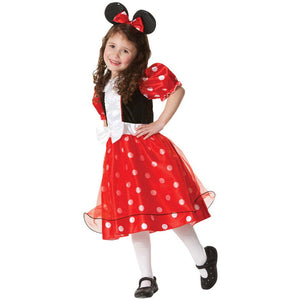 Girls Cute Mini Mouse Anime Cosplay Clothing Children Fantasy Fancy Dress Carnival Party Halloween Costumes For Kids