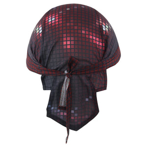 Checked Outdoors Riding Scarf Sports Cap