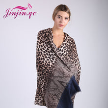 Leopard Pattern Sexy Beach Shawls for Women