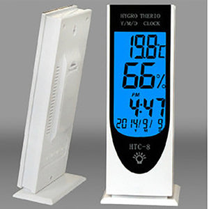 Indoor Temperature Household Electronic High-Precision Thermometer Multi-Function Night Light Clock