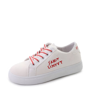 Letters Embroided Vamp Fashion Women's Casual Shoes