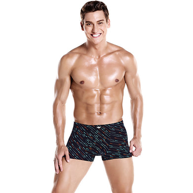 Novel Digital Pattern Men's Fashion Boxer Brief