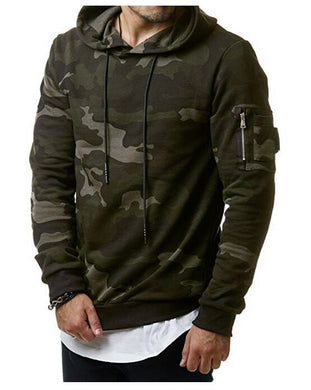 Mens Hoodies and Sweatshirts Zipper Hooded Sweatshirts Male Clothing Fashion Military Hoody For Men Printed Hoodies