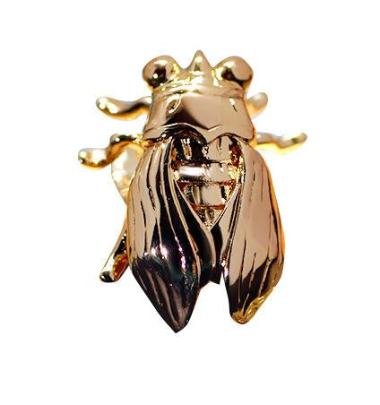 Vivid Metal Cicada Shape Sweater Clips (1 pcs)