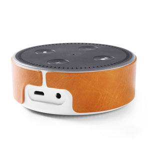 Creative Intelligent Speech Pu Adhesive Cover Echo Dot 2 Leather Cover