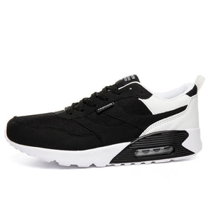Vibration Aborption Men's Contrast Color Sneakers