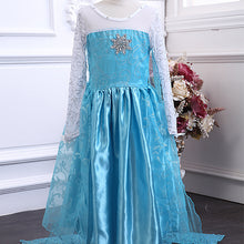 Ice Queen Glitter Princess Dress