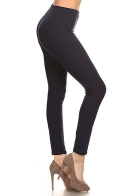 Absolute Workout Legging Pure Color Super Comfy Stretch Pull-On for Women